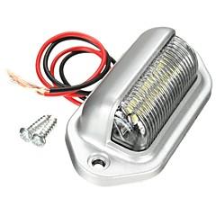 billige Interiørlamper til bil-1 Deler Bil Elpærer 6 LED Lisensplatelampe / interiør Lights Til Universell Silhouette / General motors Alle år