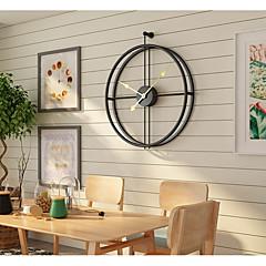 billige Veggklokker-Moderne Moderne Mote Rustfritt stål Uregelmessig Innendørs