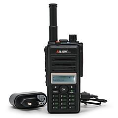 billige Walkie-talkies-ELIDA CD880 Håndholdt / Dobbelt bånddisplay GPS / Programmerbar med datasoftware / Gruppesamtale >10 km >10 km 16CHANELS 6000 mAh 5 W Walkie Talkie Toveis radio
