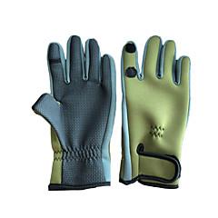 رخيصةأون -قفازات أصابع كاملة قفازات الأصابع العامة الصيد واقية دائم يمكن ارتداؤها المطاط الربيع ، الخريف ، الشتاء ، الرجال الصيف