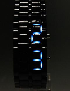 お買い得  デジタルウォッチ-男性用 リストウォッチ デジタル カレンダー LED Plastic バンド チャーム ブラック