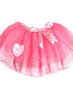 A-line prinsesse knelengde blomst jente kjole - tulle charmeuse ermeløs med sequin