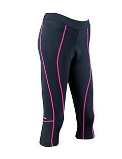 cheap Cycling Clothing-SANTIC Cycling 3/4 Tights Women's Bike Bottoms Bike Wear Quick Dry Breathable Stripe Cycling / Bike Black