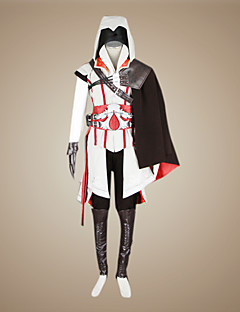 baratos Fantasias de Vídeo Game-traje cosplay ezio
