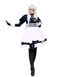 cheap Anime Costumes-Inspired by Hetalia White Russia Natalia Alfroskaya Anime Cosplay Costumes Cosplay Suits Patchwork Long Sleeves Dress For Women's