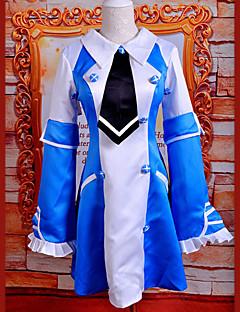 """billige Anime Kostymer-Inspirert av Pandora Hjerter Echo Anime  """"Cosplay-kostymer"""" Cosplay Klær / Kjoler Lapper Ermeløs Kjole Til Dame Halloween-kostymer / Satin"""