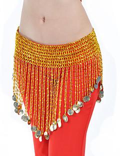 billige Karneval Kostumer-magen danse belte kvinners trening polystyren mynter elegant stil