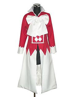 """billige Anime Kostymer-Inspirert av Pandora Hjerter Alice Anime  """"Cosplay-kostymer"""" Cosplay Klær Lapper Langermet Halsklut / Kappe Til Dame"""
