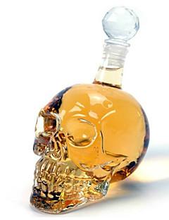 tanie Najnowsze akcesoria do napojów-Wódka 350ml szklana butelka wina karafki