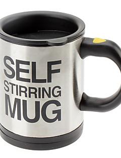 preiswerte Kaffeetassen-Automatische Kaffeemaschine Tasse / Becher Trinkglas Edelstahl Kaffeetasse selbst rührender elektrischer Becher Knopf