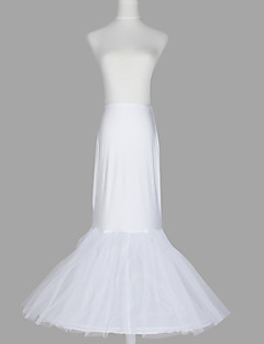 Wedding Special Occasion Slips Spandex Tulle Netting Taffeta Floor-length Mermaid and Trumpet Gown Slip With