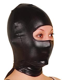 Máscara Ninja Fantasia Zentai Fantasias de Cosplay Sólido Máscara Metálico Brilhante Unisexo Dia Das Bruxas