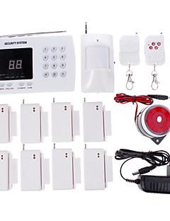 Χαμηλού Κόστους Home Safety-433 MHz 433 MHz ΤΗΛΕΦΩΝΟ Τηλέφωνο Συναγερμός Ήχος συναγερμού Συστήματα Home Alarm