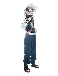 """billige Anime Kostymer-Inspirert av Naruto Hatake Kakashi Anime  """"Cosplay-kostymer"""" Cosplay Klær Lapper Langermet Topp Bukser Belte Veske Til Mann"""