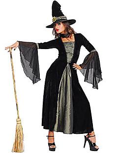 Sihirbaz / Cadı Cosplay Kostümleri Parti Kostümleri Kadın Cadılar Bayramı Festival / Tatil Cadılar Bayramı Kostümleri Solid