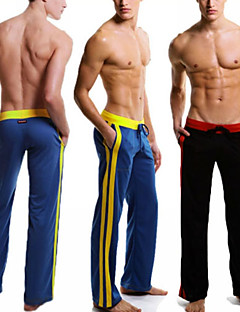 Running Pants Pants / Trousers Bottoms for Exercise & Fitness Leisure Sports Running White Black Gray Brown Blue M L XL