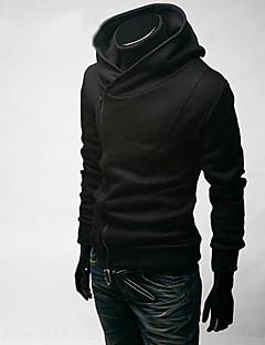 ieftine Îmbrăcăminte Bărbați de Exterior-Bărbați Șic & Modern Hanorac cu Glugă Mată