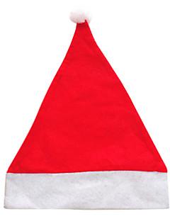 Nisse drakter Hatter Unisex Halloween Jul Festival/høytid Halloween-kostymer Ensfarget