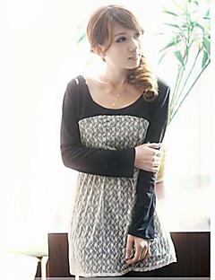 tanie Wyprzedaż-Damskie Wyrafinowany styl Luźna Sukienka Nadruk Mini