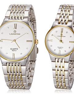 女性用 ドレスウォッチ ファッションウォッチ リストウォッチ ダミー ダイアモンド 腕時計 クォーツ 模造ダイヤモンド ステンレス バンド ゴールド