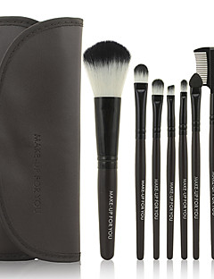 7 Brush Sets Synthetisch haar Beperkt bacterieën Gezicht / Lip / Oog MAKE-UP FOR YOU
