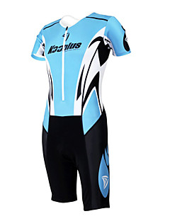 cheap Cycling Clothing-Kooplus Tri Suit Men's Women's Unisex Short Sleeves Bike Coverall Clothing Suits Bike Wear Quick Dry Moisture Permeability Wearable