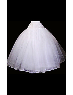 Wedding Special Occasion Slips Organza Floor-length Ball Gown Slip With