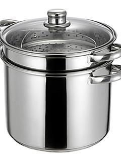 preiswerte Töpfe für Suppe & Eintopf-9,5 qt Edelstahl-Multi-Töpfe, Ø 24cm x H20cm