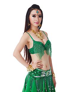 billige Karneval Kostumer-Magedans Toppe Dame Yteevne Polyester 1 Deler Naturlig Topp