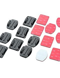 お買い得  GoPro アクセサリ-接着剤 Flat Adhesive Pads Curved Adhesive Pads ために アクションカメラ Gopro 5/4/3/3+/2/1 ユニバーサル オート 軍隊 スノーモービル 航空 映画や音楽 狩猟と釣り ラジオコントロール スカイダイビング ボート遊び