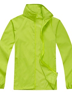 cheap Softshell, Fleece & Hiking Jackets-Men's Women's Unisex Hiking Jacket Outdoor Waterproof Quick Dry Windproof Ultraviolet Resistant Rain-Proof High Breathability (>15,001g)