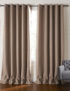 billige Mørkleggingsgardiner-gardiner gardiner Stue Stribe Polyester