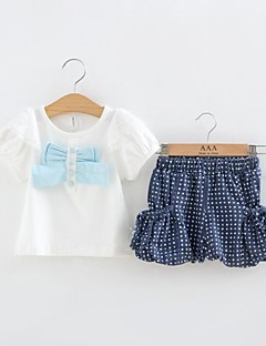 Clothing Set,Cotton Summer Short Sleeve White