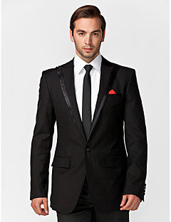 Tuxedos Tailored Fit Slim Notch Single Breasted One-button 2 Pieces