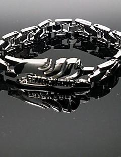 billige Anime Cosplay Tilbehør-Smykker Inspirert av Eventyr Naruto Uzumaki Anime Cosplay Tilbehør Armbånd Sølv Legering Mann
