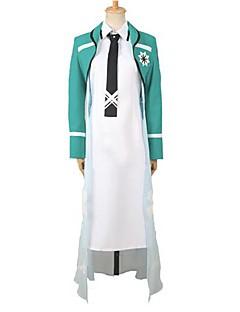 inspirert av uregelmessig på magiske high school shiba Tatsuya cosplay kostymer
