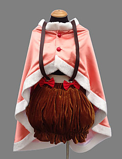 cheap Anime Costumes-Inspired by Puella Magi Madoka Magica Nagisa Hazuki Anime Cosplay Costumes Cosplay Suits Patchwork Dress Shawl Underwear Cap For Women's