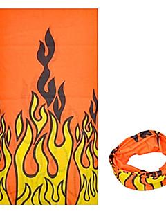 ハット バンダナ ネックゲートル バイク 高通気性 防風 抗紫外線 耐久性 サンスクリーン 女性用 男性用 男女兼用 イエロー レッド ポリエステル