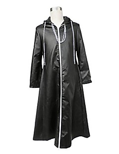 Inspirat de Kingdom Hearts Cosplay Video Joc Costume Cosplay Costume Cosplay Solid Negru Manta