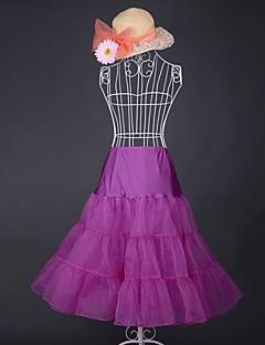 クラシック/伝統的なロリータ ビンテージ 女性用 スカート コスプレ ピンク ブラック ブルー パープル レッド