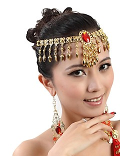 cheap Dance Accessories-Dance Accessories Jewelry Women's Metal Tassel Christmas Decorations Halloween Decorations