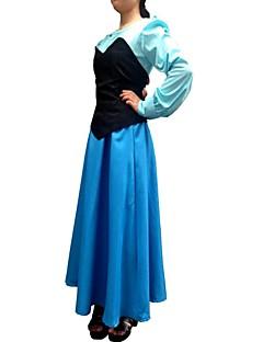 billige Halloweenkostymer-Havfruehale Cosplay Kostumer Party-kostyme Herre Dame Jul Halloween Festival / høytid Drakter Lapper