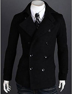 Men's  Leisure Double Breasted Coat