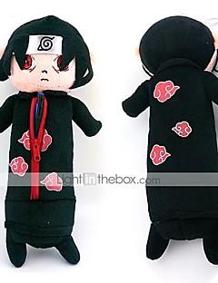 Veske Inspirert av Naruto Itachi Uchiha Anime Cosplay Tilbehør Veske Svart Polar Fleece Mann / Kvinnelig