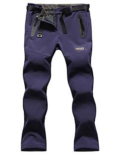 Damen Wanderhosen Wasserdicht warm halten Windundurchlässig Fleece Innenfutter Isoliert Regendicht Hosen/Regenhose für Skifahren Camping
