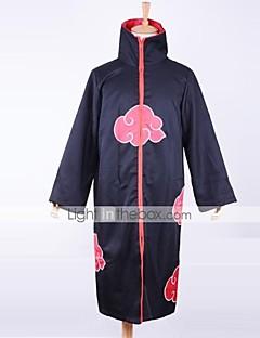 """Inspirert av Naruto Akatsuki Anime  """"Cosplay-kostymer"""" Cosplay Klær Trykt mønster Langermet Kappe Til Mann"""