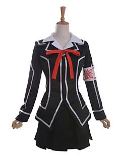 """Inspirert av Vampyr Ridder Kuran Anime  """"Cosplay-kostymer"""" Cosplay Klær Skoleuniformer Lapper Langermet Frakk Trøye Skjørte Armbind Bånd"""