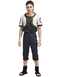 """billige Anime Kostymer-Inspirert av Naruto Shikamaru Nara Anime  """"Cosplay-kostymer"""" Cosplay Klær Lapper Kortermet Frakk Bukser T-Trøye Til Herre"""