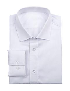 tanie Koszule-Koszulka biała bawełna stałe