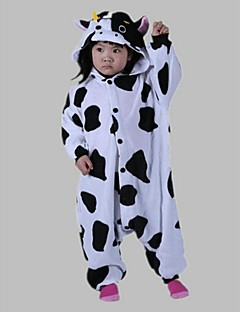 Kigurumi Pyjamas Melkeku Kostume Polar Fleece Kigurumi Trikot / Heldraktskostymer Cosplay Festival / høytid Pysjamas med dyremotiv